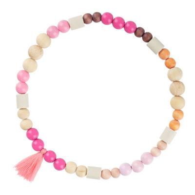 Zeckenschutz Hunde-Halsband pink