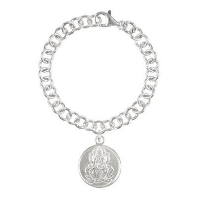 Münz-Armband Lakshmi und Sri Yantra